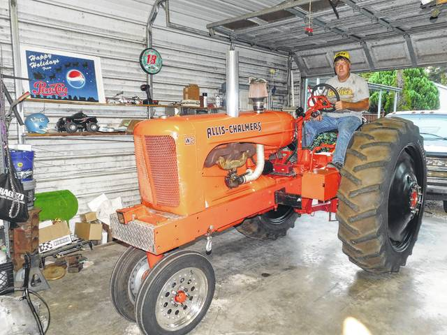 Gibson Tractor ANTIQUE POWER magazine Allis Chalmers D-14 tractor