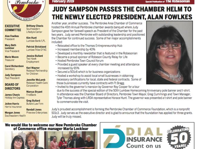 February Pembroke Chamber of Commerce Newsletter