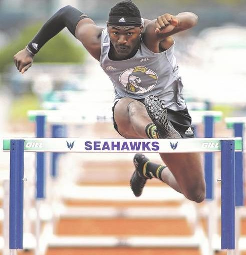 UNCP's Graham heads to nationals and is among nation's top 110-meter hurdlers