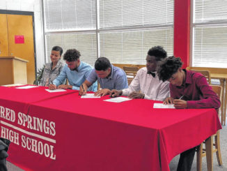 Five Red Devils to play in college
