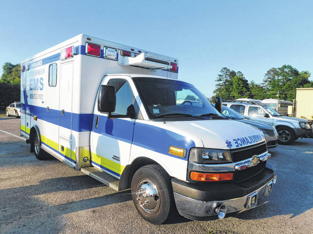 South Robeson adds ambulance to rescue ability