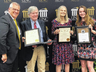 UNCP honors retirees for 561 years of service