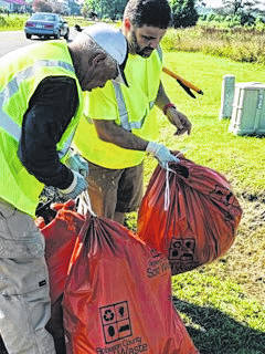 Commissioners lead cleanup efforts