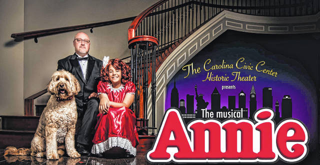 'Annie' takes the Carolina Civic Center stage in June