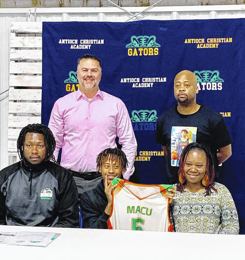 Antioch's McQueen signs with Mid-Atlantic Christian