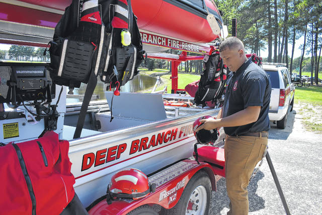 County equipped for swift-water rescue