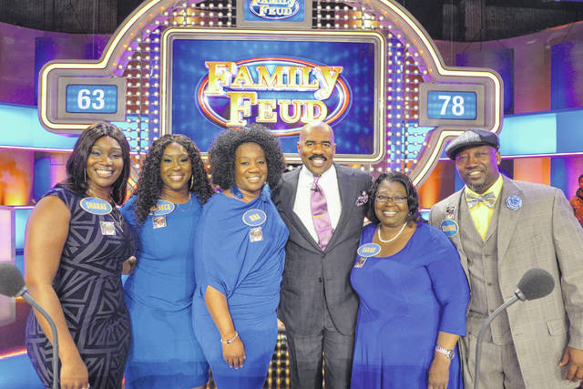 Five people with roots in Maxton participate on nationally televised 'Family Feud'