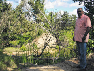 No workaround for washed-out road