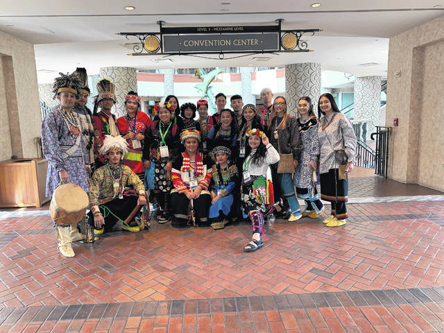 Lumbee group present at UNITY event