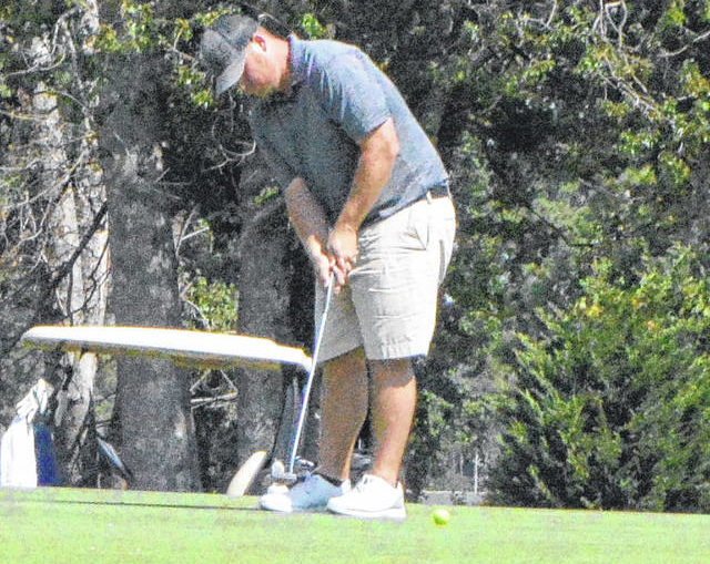 Ryan Bass goes wire-to-wire to claim Robeson County Golf Championship in runaway