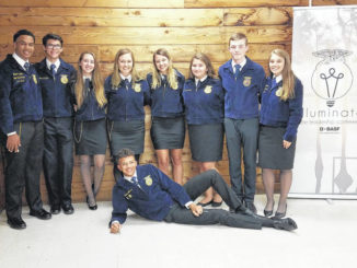 Local FFA members attend conference