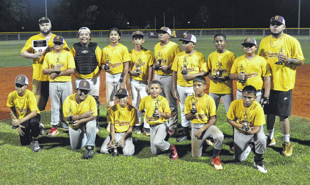 Oxendine Braves win a pair to take county Little League title over Rowland Pirates