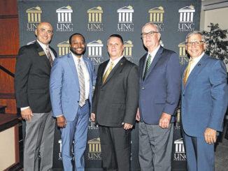 UNCP honors 3 alumni