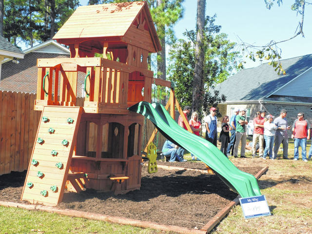 Playset Brings Smile To Ill Child