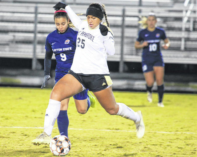 UNCP falls to Clayton State in penalties in PBC quarters