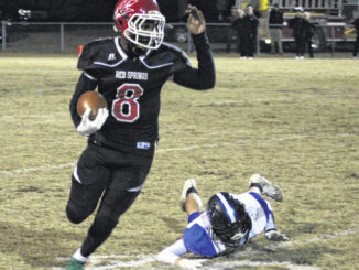 Red Springs runs to second round, despite mistakes