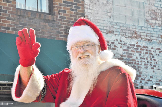 City leads off Christmas parades