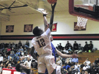 Red Devils lock in late to down East Bladen at home