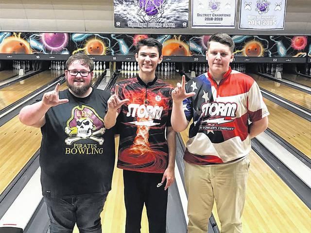 Lumberton bowling trio finishes 1-2-3