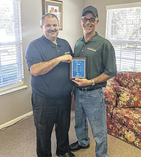 Jacobs wins Caretaker Award