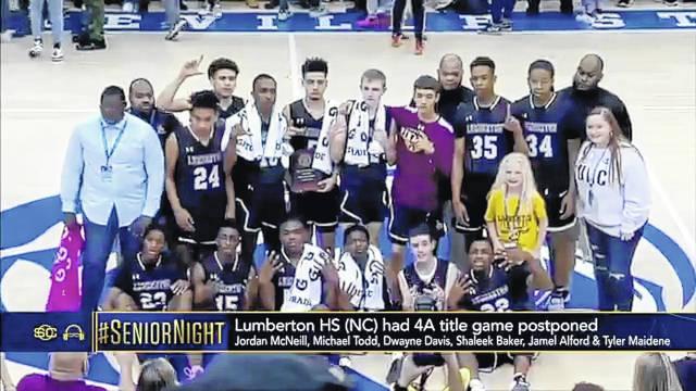 Lumberton basketball featured on ESPN's 'SportsCenter'