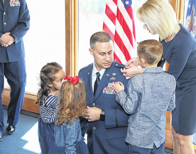 Oxendine promoted lieutenant colonel in US Air Force