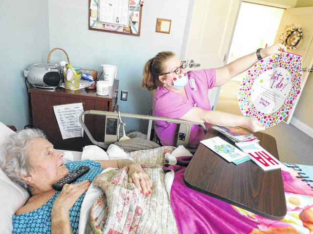 Workers at assisted living facilities get creative in attempt to keep residents active, hopeful