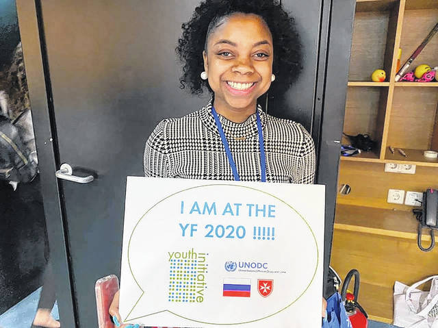 Local youth represents the US in Vienna at United Nations Youth Forum