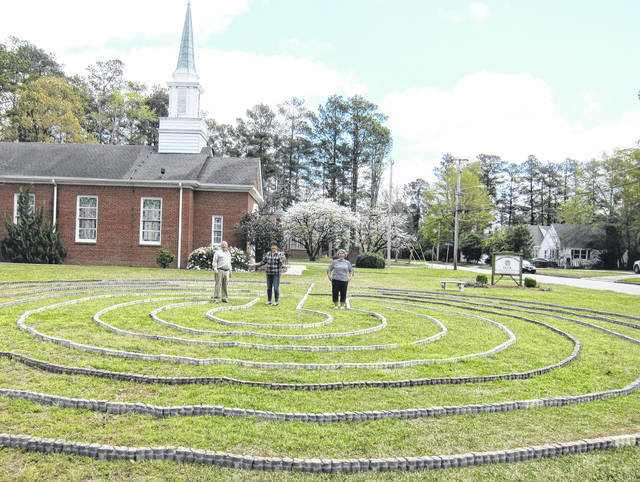 Church in Lumberton builds labyrinth so users can engage in 'contemplative strolling'