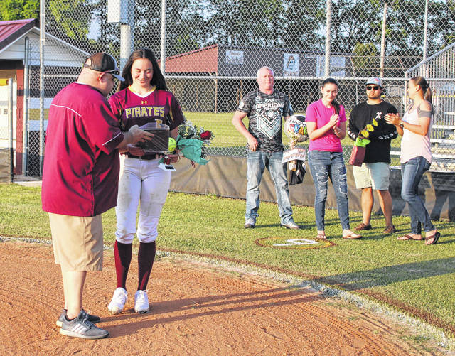 Lumberton softball's 3 seniors honored with their own senior day