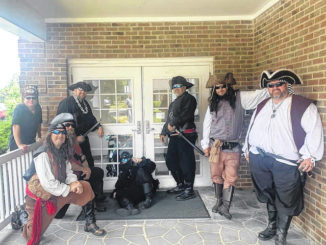 Sudan Pirates take routine to retirement facilities on mission to make residents smile