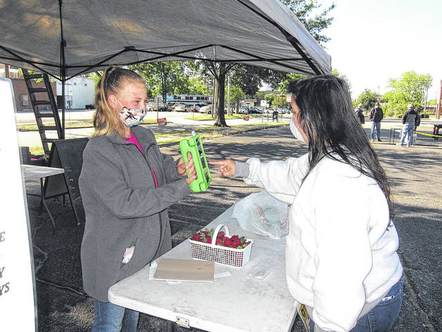 Late opening day at Robeson County Farmers Market well received