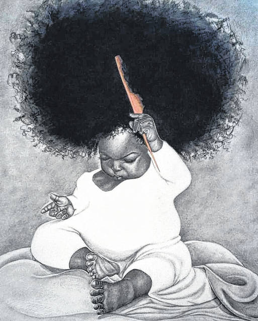 <p>Shown is a commissioned sketch by multi-media artist Kendreek Mitchell.</p>