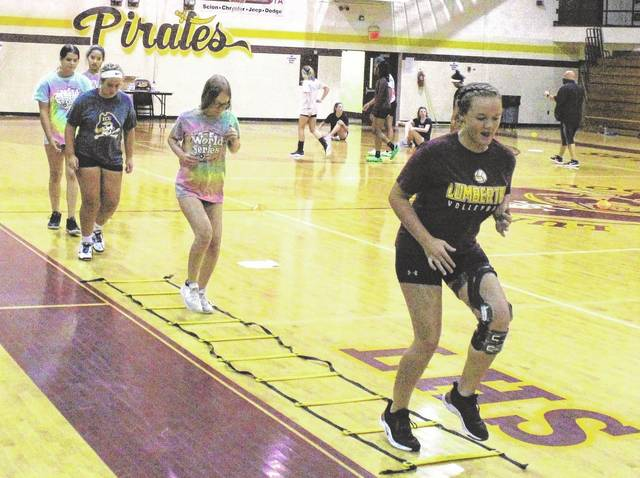 Athletic workouts at Robeson County schools running smoothly through first week
