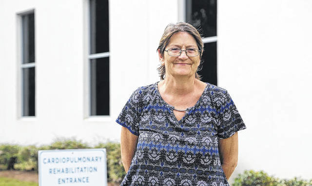 Vicky McLamb has found a renewed energy since completing Southeastern Health's Cardiopulmonary Rehabilitation program after being diagnosed with COPD.                                  Courtesy photo | Southeastern Health