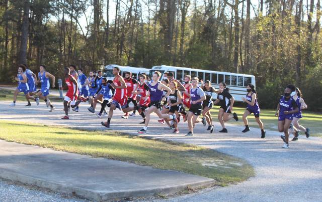 Red Springs boys cross country wins as Chavis runs 2nd; St. Pauls' Thompson wins girls race