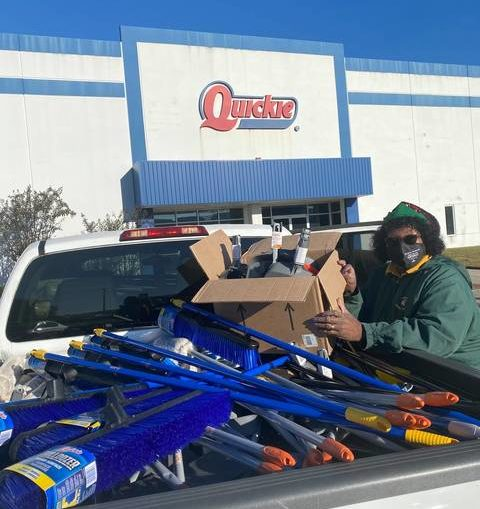 Quickie Manufacturing Corporation donates cleaning supplies to 15 PSRC schools