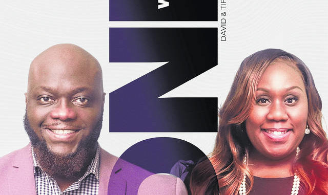 """Shown is the """"We Are One"""" cover, the latest single by husband and wife gospel duo David and Tiffany Spencer. The single will be available on Friday on all digital outlets.                                 Courtesy photo"""