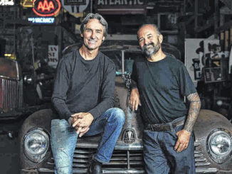 "Mike Wolfe and Frank Fritz will be looking for some antique treasures in North Carolina to be featured on their hit series ""American Pickers,"" a documentary series that explores the world of antique ""picking"" and airs on the History channel.                                  Courtesy photo 