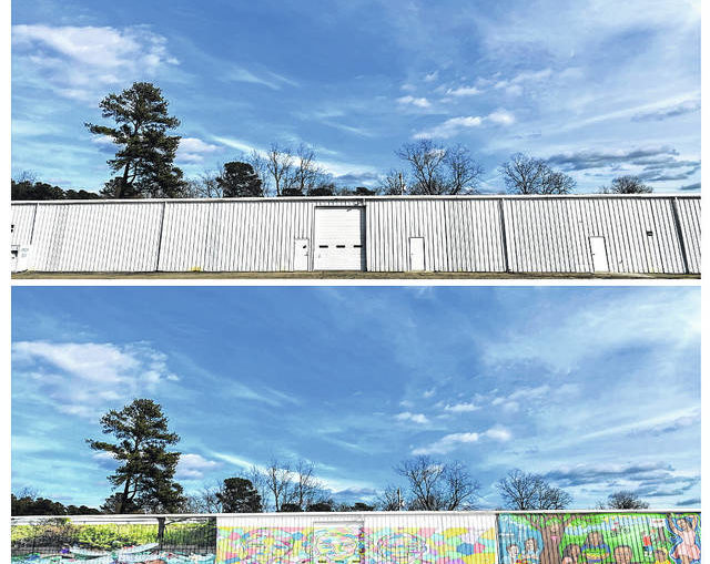 RCCCC stages contest three winners of which will paint murals on Home Store wall