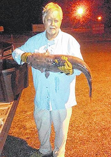 Pinehurst man breaks North Carolina record for channel catfish