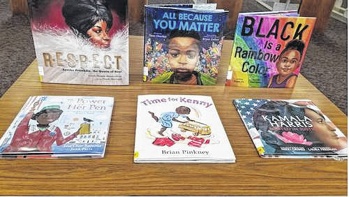 In honor of Black History Month, RCPL purchases children's books written by Black authors