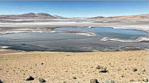 <p>A lakebed on Earth shows what Jezero crater's floor may have looked like 4 billion years ago on Mars.</p>                                  <p>Courtesy photo</p>