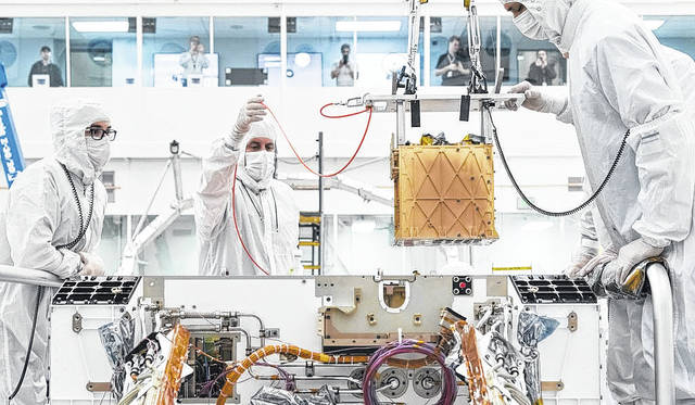 MEDA and Moxie are two instruments that are paving the way for future human exploration of Mars.                                  Courtesy photo