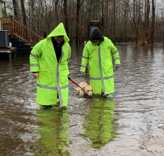 County officials monitor rising water: Roads closed but no evacuations as of Thursday afternoon