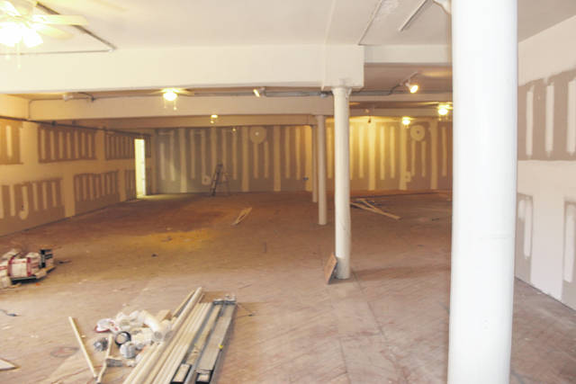 <p>Tomeka Sinclair   The Robesonian</p>                                 <p>Shown is the main gallery space at Inner Peace Center for the Arts, which is now at Chestnut and Third Streets in downtown Lumberton. Renovating the gallery is the first phase in a series of projects to transform the old retail space into an art gallery and studio.</p>