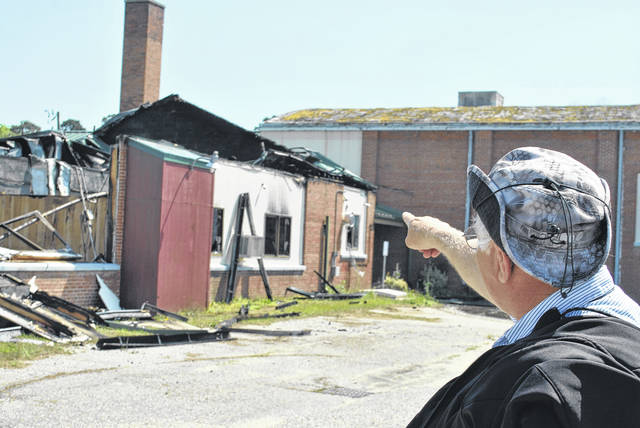 Cause of fire at vacant R.B. Dean Elementary School yet to be determined