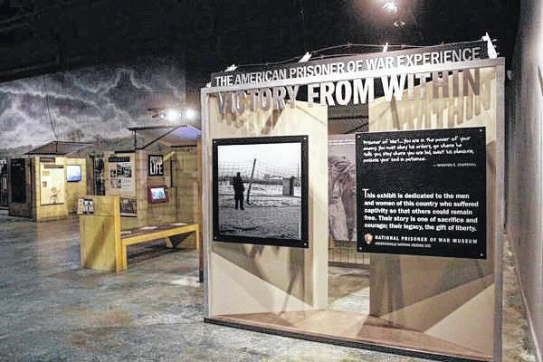 Exhibit tells 'Prisoner of War Experience'