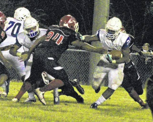 A heart-pounder: St. Pauls beats Red Springs for TRC title