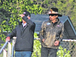 Richard Petty attends St. Pauls-Randleman game